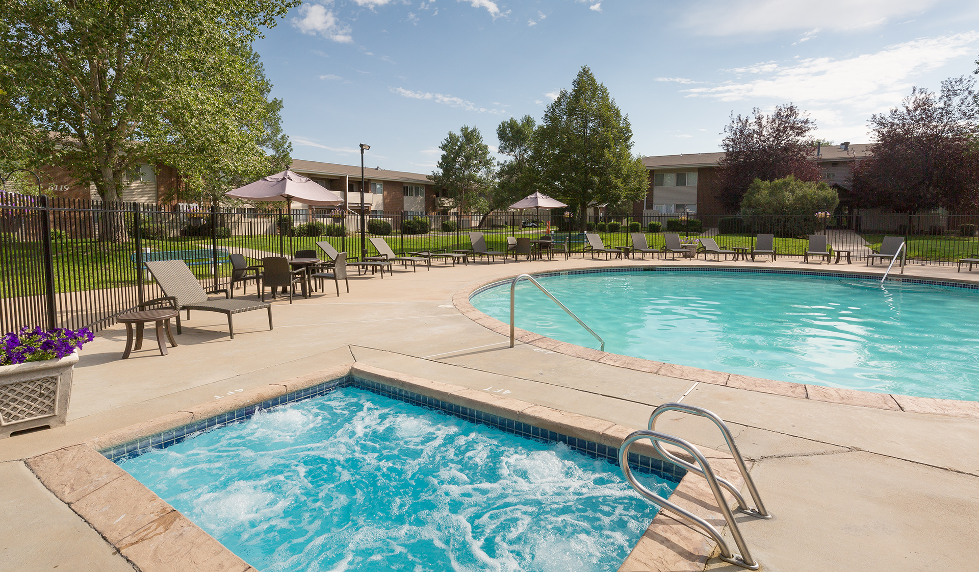 Meadow Creek Apartments in Boulder, CO - Resort-Style Swimming Pool