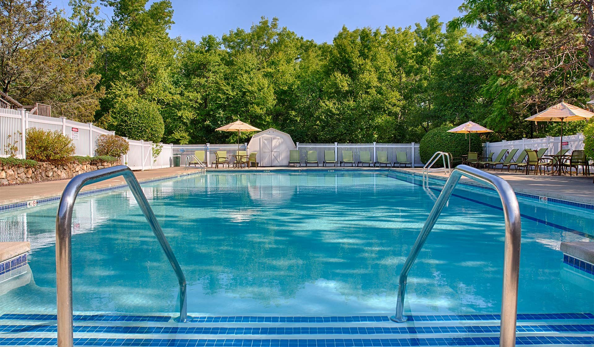 Wexford Village Apartment Homes in Worcester, MA - Resort-style Pool