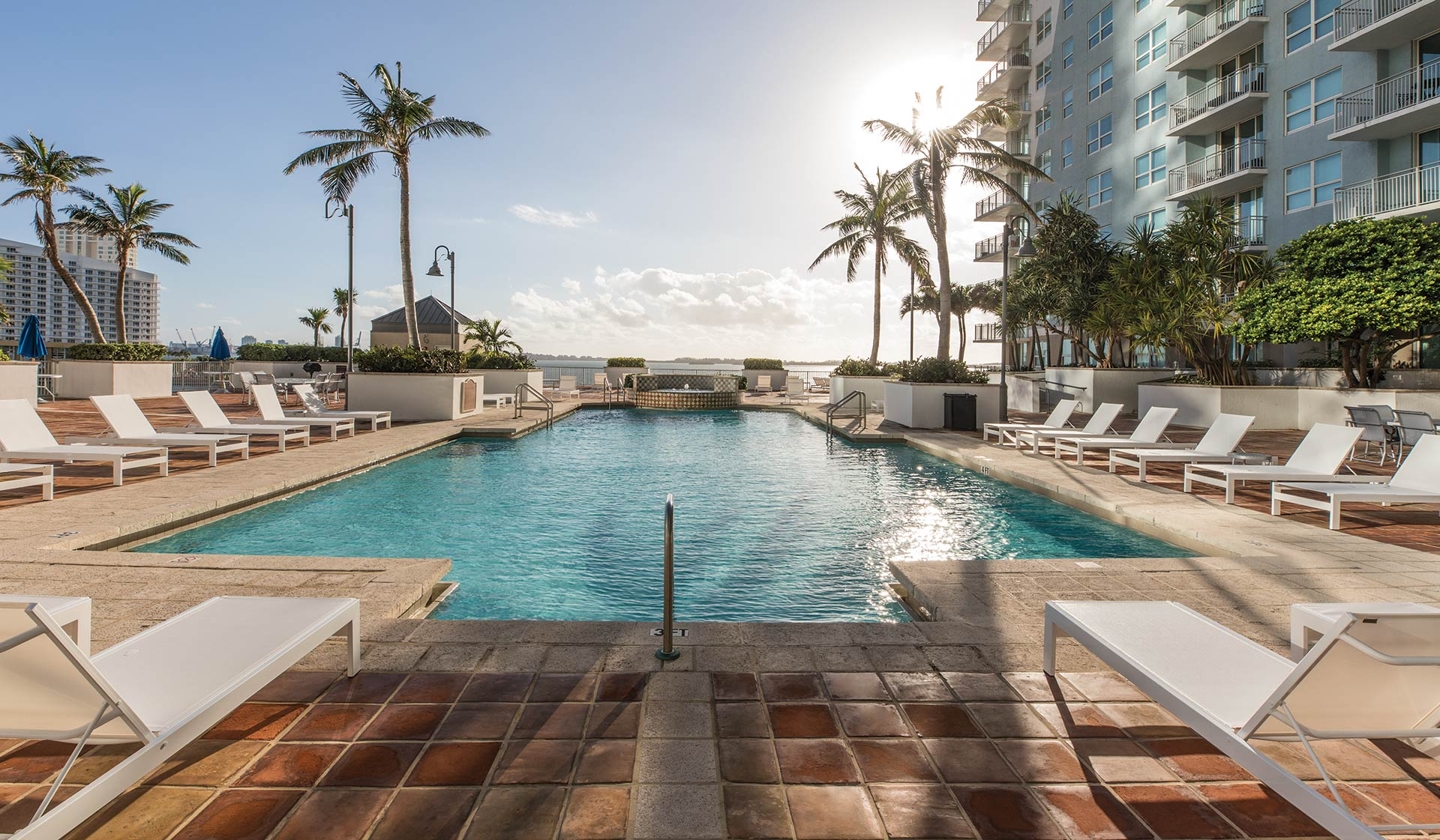Yacht Club at Brickell Apartments in Miami, FL - Resort-style Pool