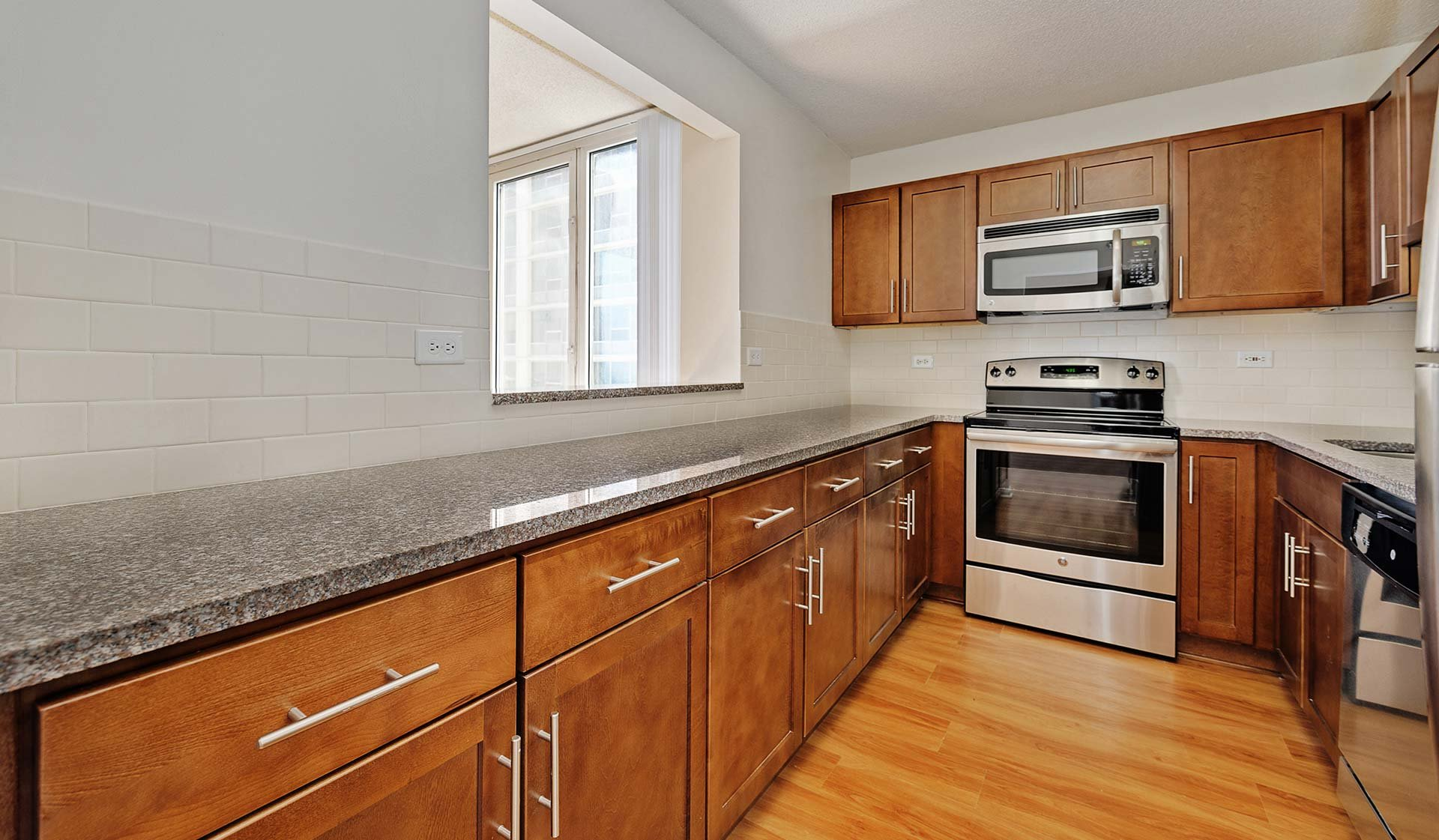 Hyde Park Tower Apartments in Chicago, IL for Rent - Kitchen