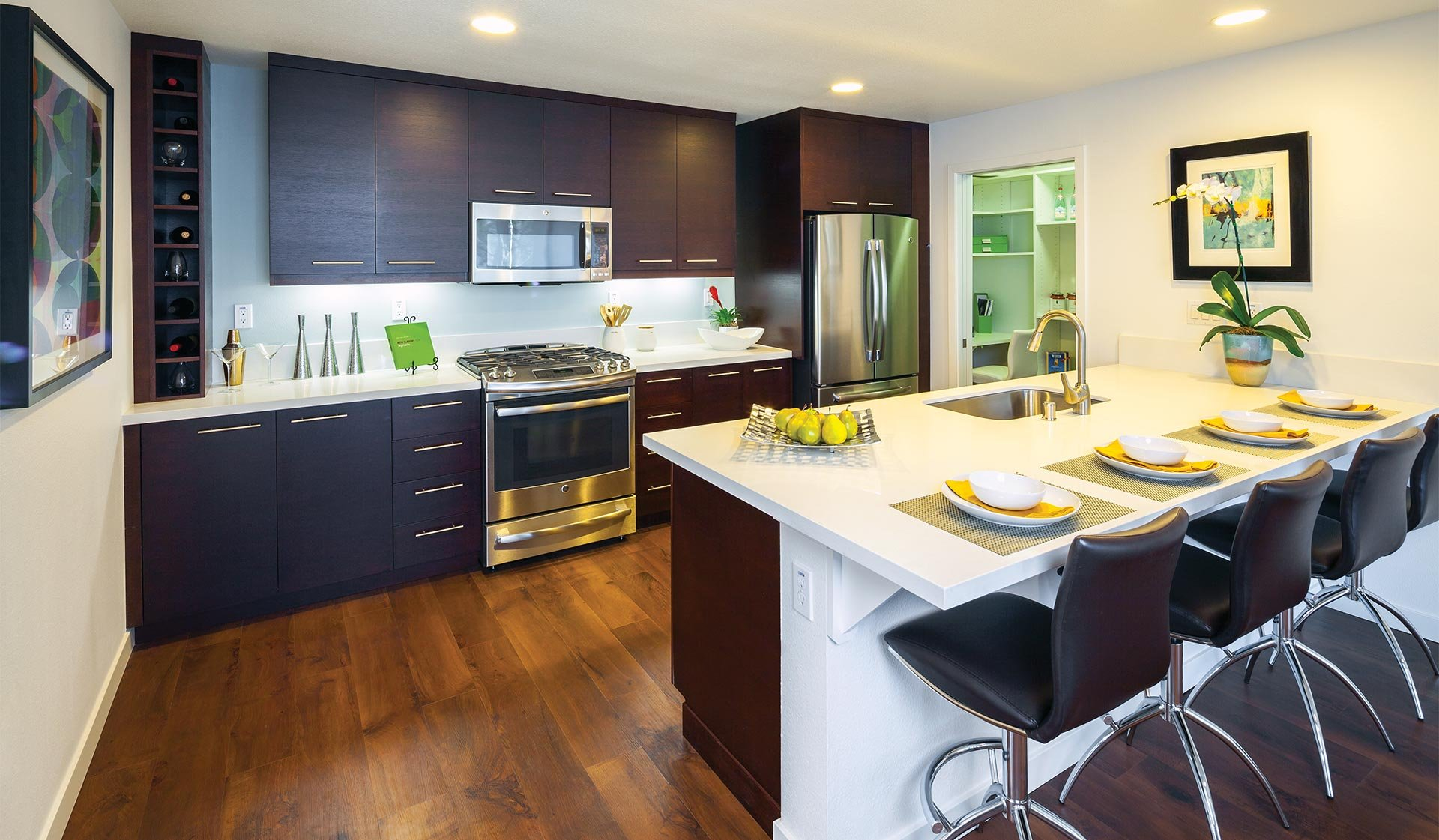 Preserve at Marin Apartment Homes in Corte Madera, CA - Kitchens