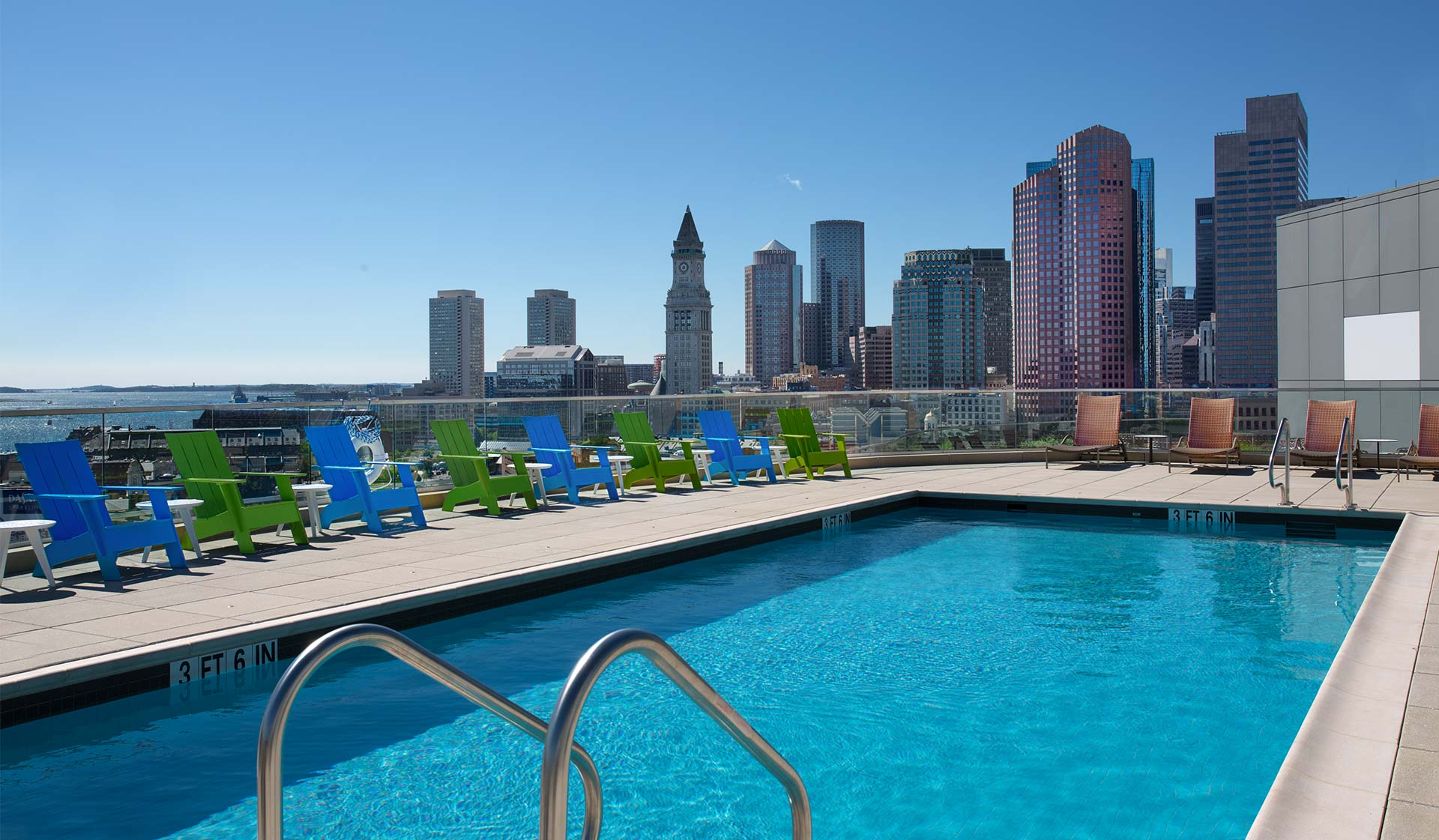 One Canal Apartment Homes - Boston, MA - Swimming Pool