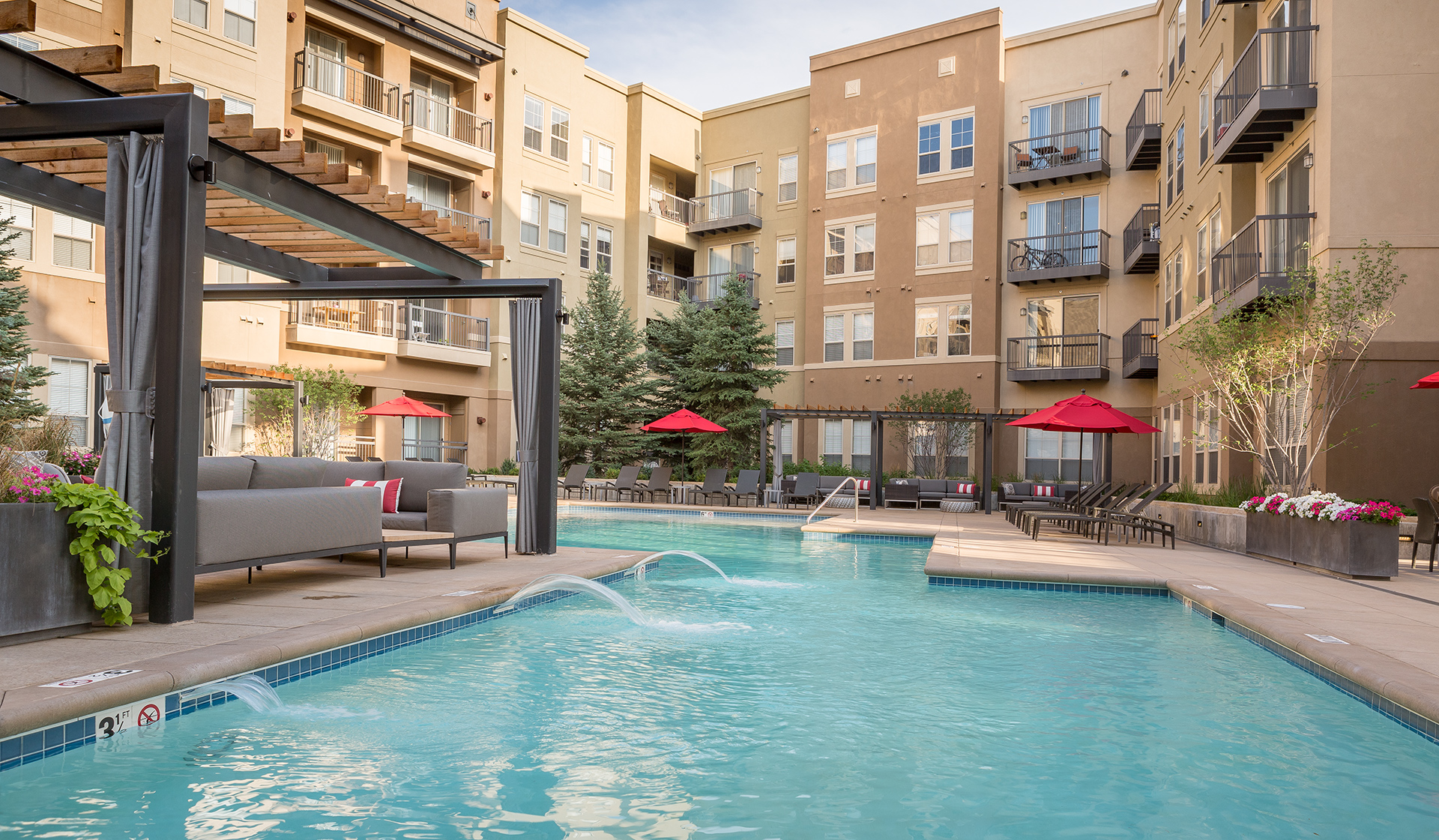 21 Fitzsimons Apartments for Rent in Aurora, CO - Pool