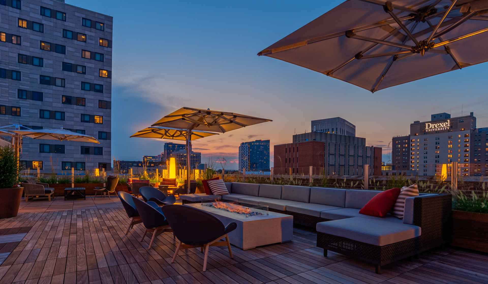 The Left Bank - Philadelphia apartments for rent - rooftop